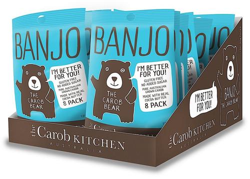 Carob Banjo Bear Milk Multi Pack 8 x 15g - The Carob Kitchen