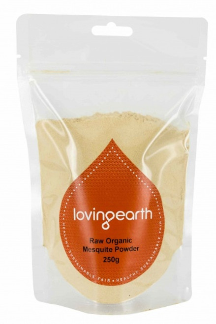 Mesquite Powder Raw Organic 250g - Loving Earth