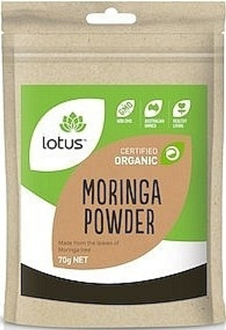 Moringa Powder Organic 70g - Lotus