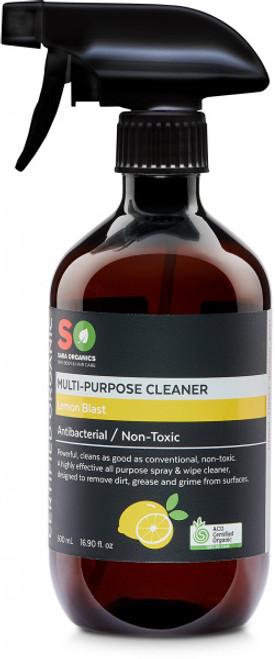 Multi-Purpose Cleaner Lemon Blast Organic 500ml - Saba Organics