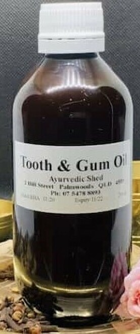 Ayurvedic Health - Myrrh Tincture Mouth Ulcers 50ml