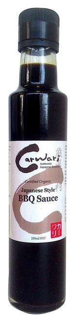 BBQ Sauce Japanese Style Organic 250ml - Carwari