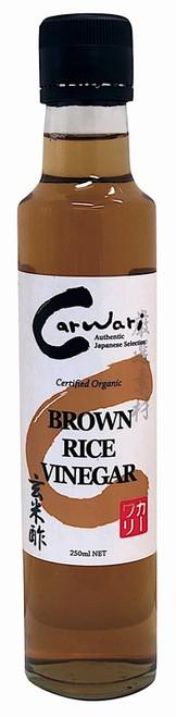 Brown Rice Vinegar Organic 250ml - Carwari
