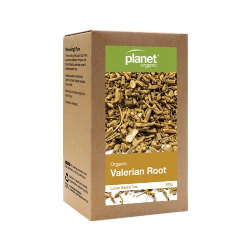 Valerian Root Loose Leaf Tea Organic 50g - Planet Organic