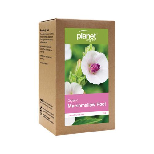 Marshmallow Root Loose Leaf Tea Organic 75g - Planet Organic