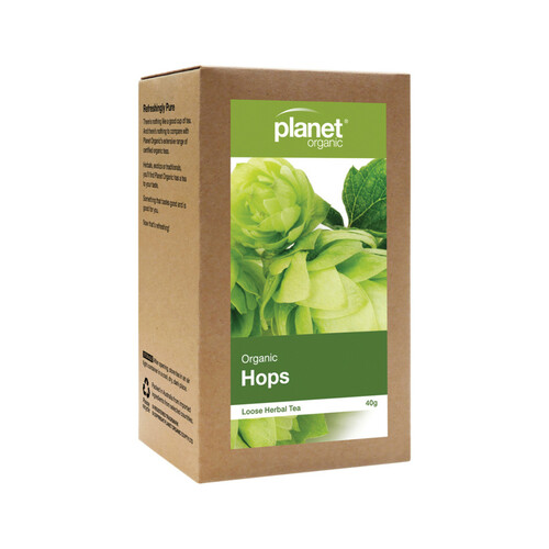 Hops Loose Leaf Tea Organic 50g - Planet Organic