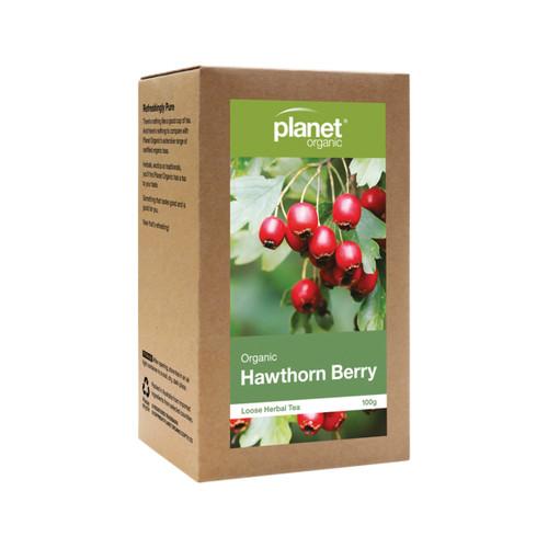 Hawthorn Berry Loose Leaf Tea Organic 50g - Planet Organic