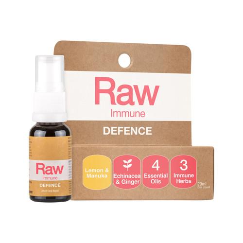 RAW Immune Defence Lemon Manuka Spray 20ml - Amazonia