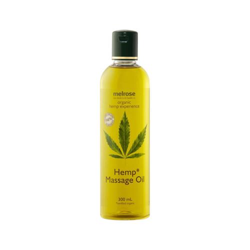 Hemp Experience Massage Oil Hemp Organic 300ml - Melrose