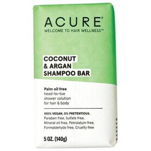 Coconut & Argan Shampoo & Body Bar 140g - Acure