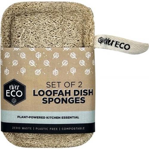 Dish Sponge Loofah x 2 - Ever Eco