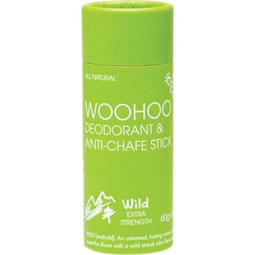 Deodorant & Anti-Chafe Stick Wild Extra Strength 60g - Woohoo Body