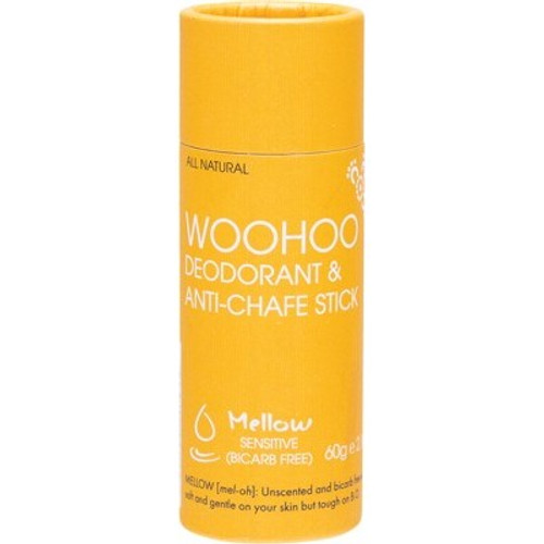 Deodorant & Anti-Chafe Stick Mellow Sensitive 60g - Woohoo Body
