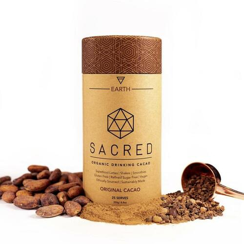 Original Cacao Drinking Cacao Sacred Earth Organic 250g - Sacred Taste