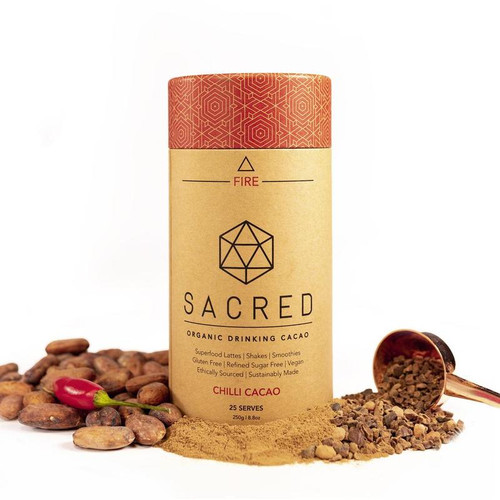 Chilli Cacao Drinking Cacao Sacred Fire Organic 250g - Sacred Taste