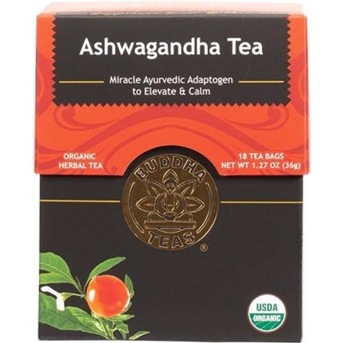 Ashwagandha Tea Organic 18 Bags - Buddha Teas