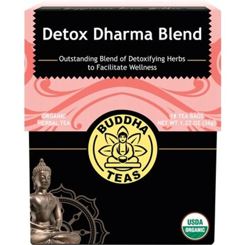 Detox Dharma Blend Tea Organic 18 Bags - Buddha Teas