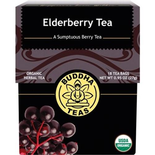 ElderberryTea Organic 18 Bags - Buddha Teas
