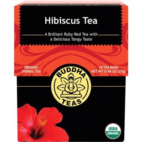 Hibiscus Tea Organic 18 Bags - Buddha Teas
