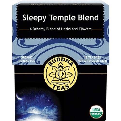 Sleepy Temple Tea Blend Organic 18 Bags - Buddha Teas