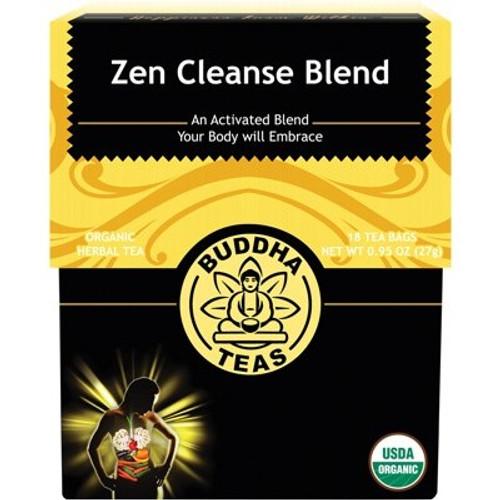 Zen Cleanse Tea Blend Organic 18 Bags - Buddha Teas