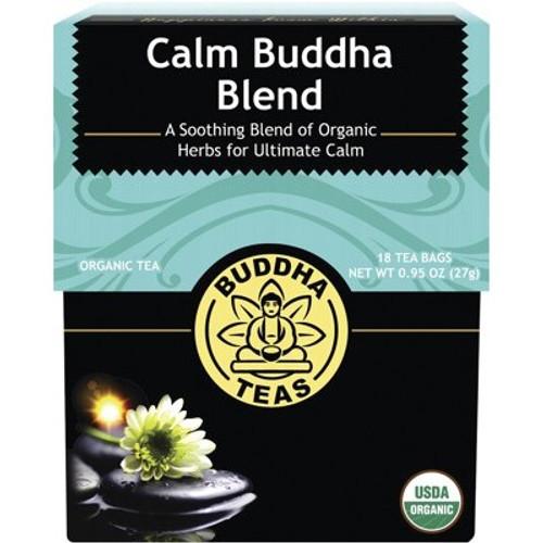 Calm Buddha Tea Blend Organic 18 Bags - Buddha Teas