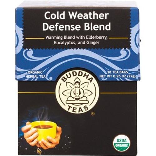 Cold Weather Defense Tea Blend Organic 18 Bags - Buddha Teas