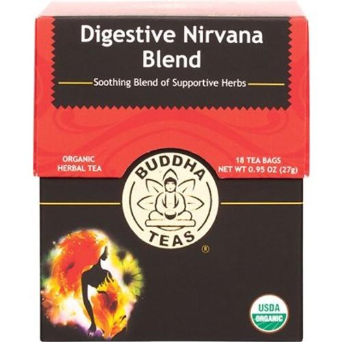 Digestive Nirvana Tea Blend Organic 18 Bags - Buddha Teas