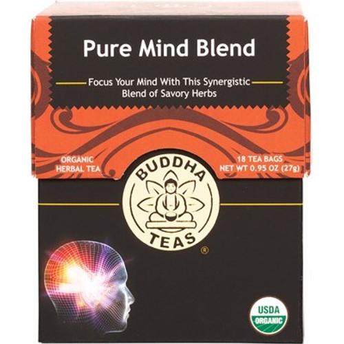 Pure Mind Tea Blend Organic 18 Bags - Buddha Teas