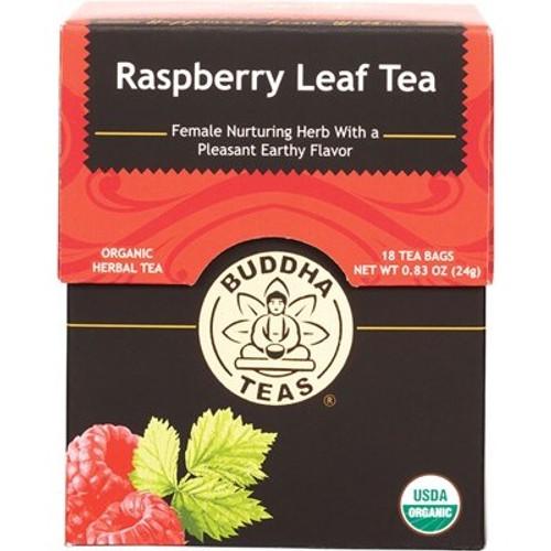 Raspberry Leaf Tea Organic 18 Bags - Buddha Teas