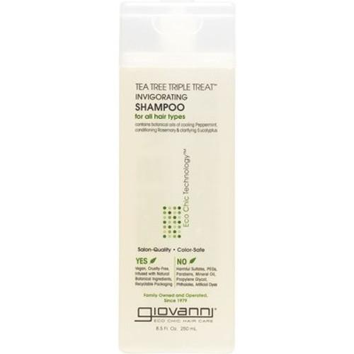 Invigorating Shampoo Tea Tree Triple Treat (all hair Types) 250ml - Giovanni