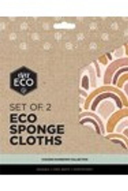 Eco Sponge Cloth 2 pack- Ever Eco