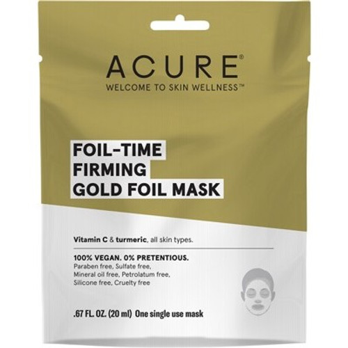 Face Sheet Mask Firming Gold Foil 20ml - Acure