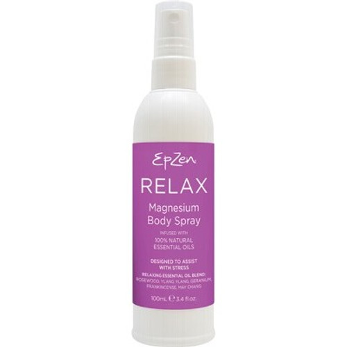 Magnesium Body Spray Relax 100ml EpZen - Evodia