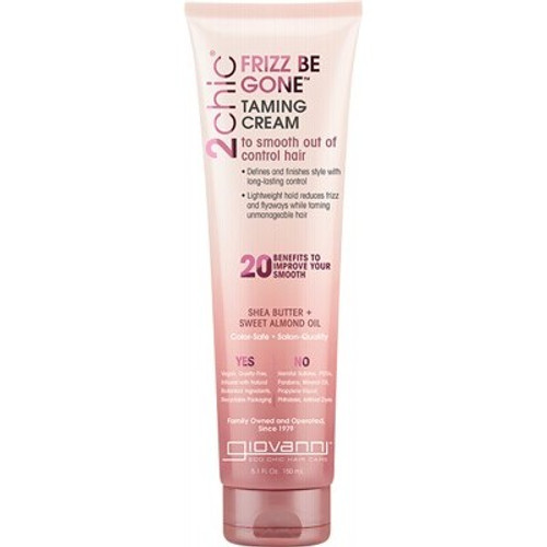 Hair Taming Cream 2chic Frizz Be Gone 150ml - Giovanni