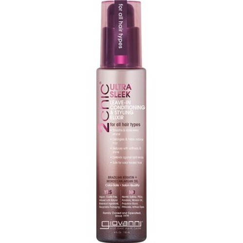 Leave-In Conditioner 2chic Ultra-Sleek 118ml - Giovanni