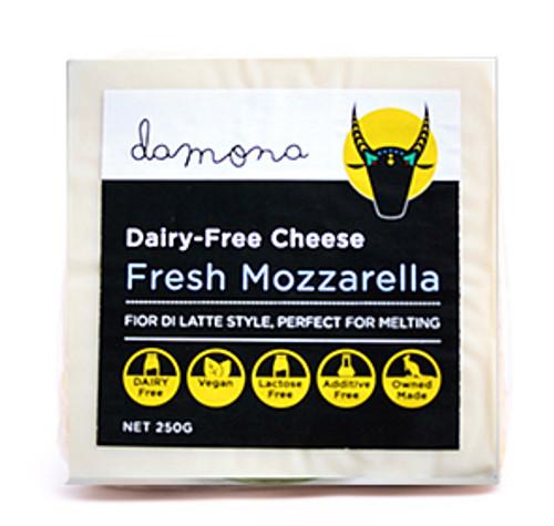 Mozzarella Fresh Dairy Free Vegan 250g - Damona