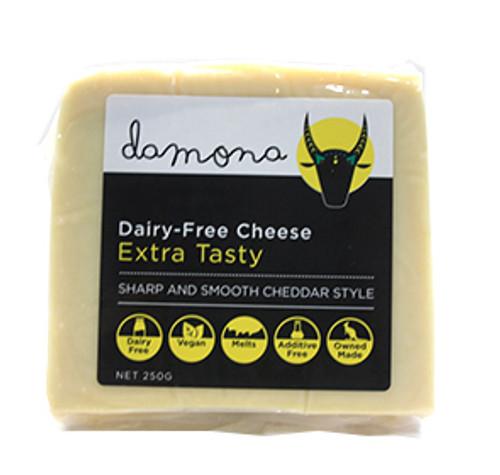 Extra Tasty Dairy Free Vegan Cheese 250g - Damona