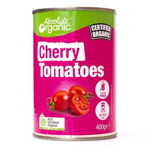 Tomatoes Cherry Organic 400g - Absolute Organic
