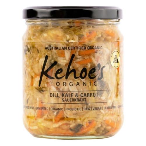 Sauerkraut Dill, Kale & Carrot Organic 410g - Kehoes Kitchen