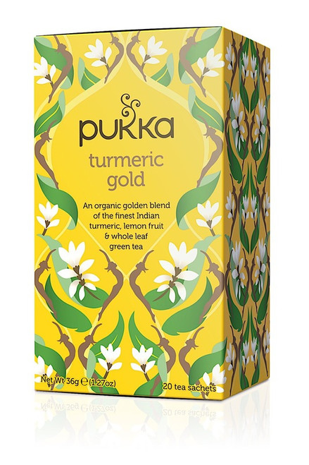 Turmeric Gold Organic Tea 20 Bags - Pukka