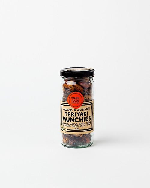 Teriyaki Munchies Activated Raw Organic 110g - Mindful Foods