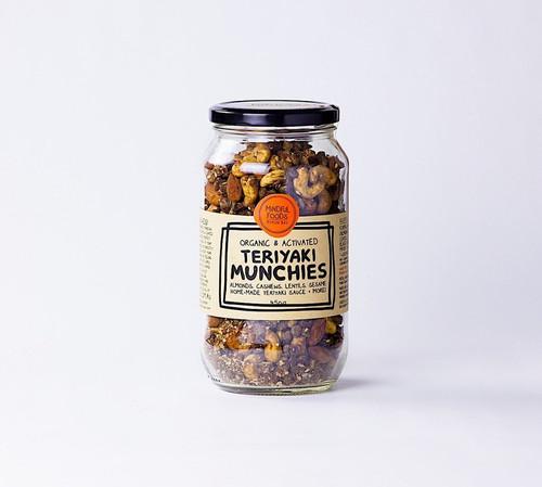 Teriyaki Munchies Activated Raw Organic 450g - Mindful Foods