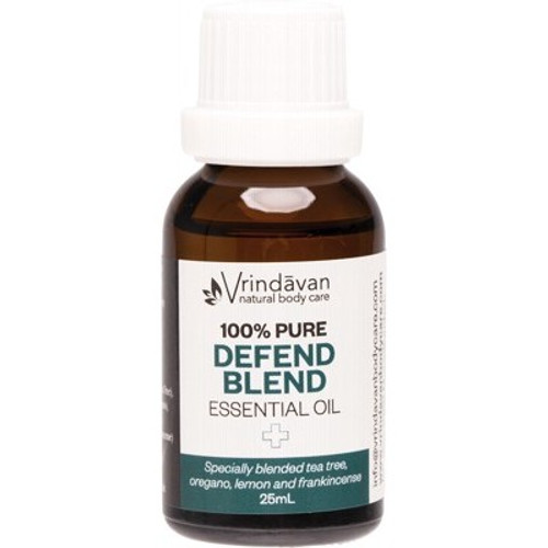 Essential Oil 100% Defend Blend 25ml - Vrindavan
