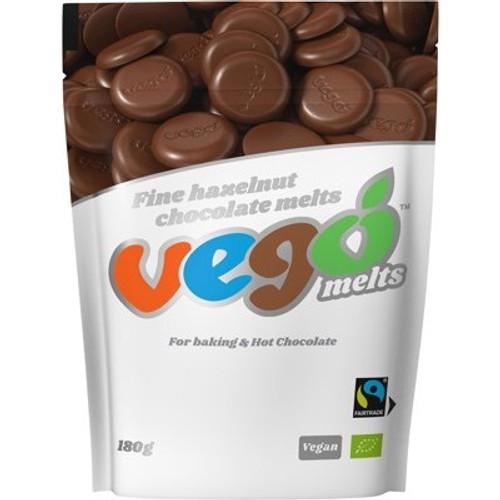 Chocolate Melts Fine Hazelnut 180g - Vego