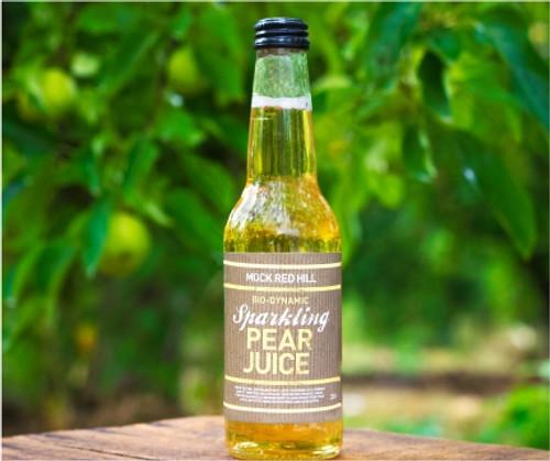 Sparkling - Pear Juice Biodynamic Organic 330ml - Mock Red Hill