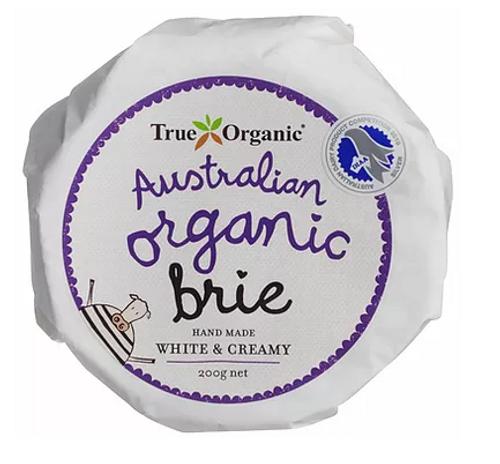 Brie Organic 200g - True Organic