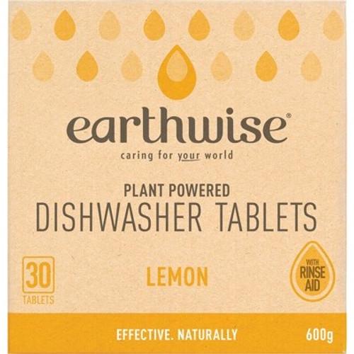 Dishwasher Tablets Lemon 30 - Earthwise