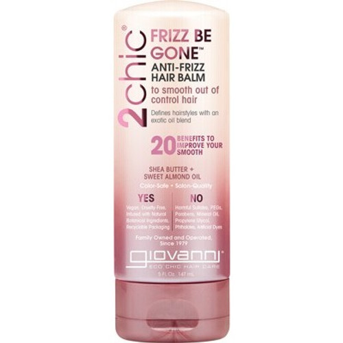 Anti Frizz Hair Balm 2chic Frizz Be Gone 147ml - Giovanni