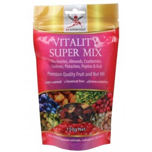 Vitality Super Mix Fruit & Nut 150g - Dr Superfoods